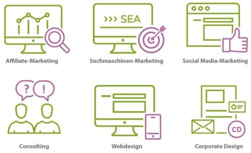 online marketing affiliate seo sea consulting webdesign