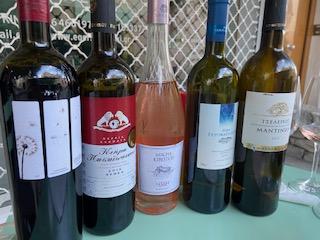 Wine tour Greece